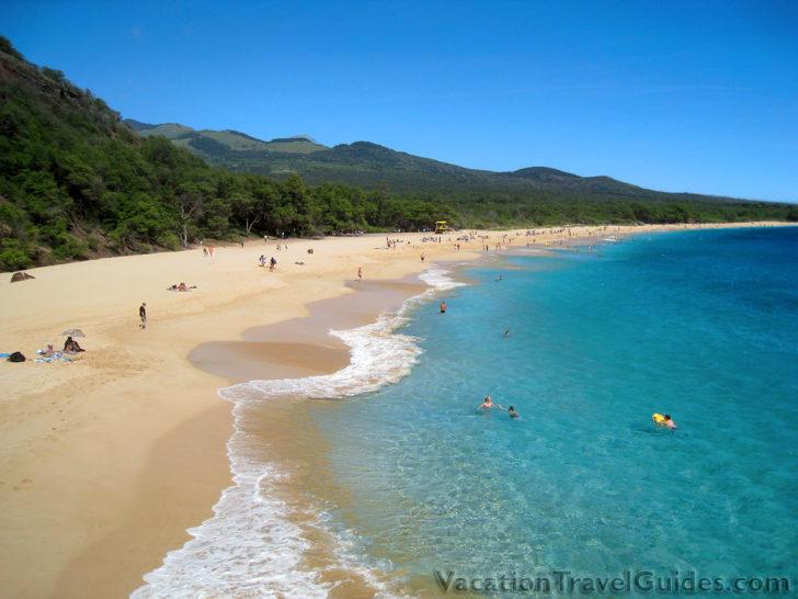 Maui Hawaii - Big Beach - Oneloa Beach - Makena Beach