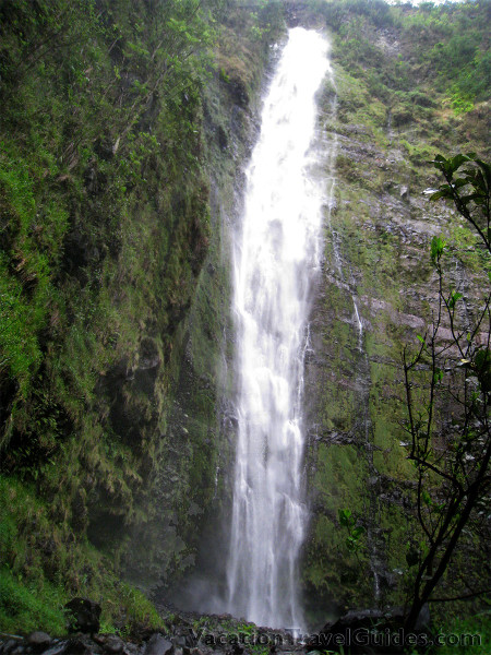 Hawaii - Maui Waterfall - Waimoku FallsTO-ADD