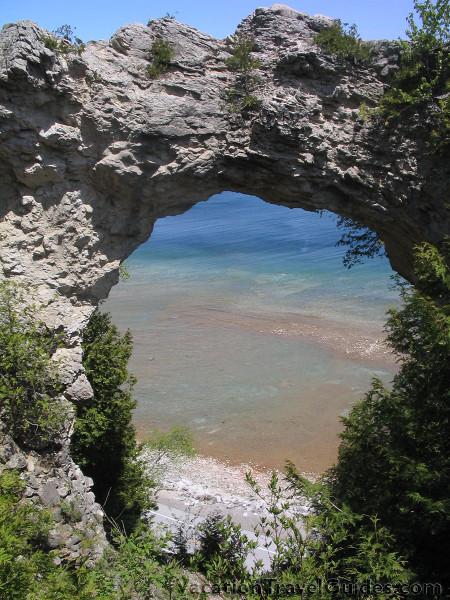Michigan Mackinac Island - Arch Rock