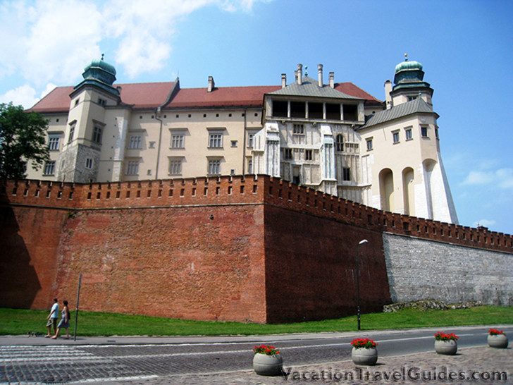 Krakow, Poland - Wavel Castle