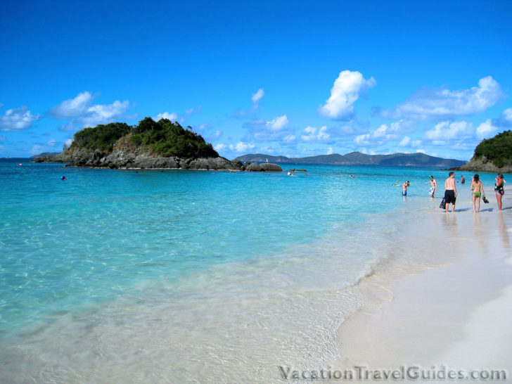 US Virgin Islands - St John Trunk Bay Beach